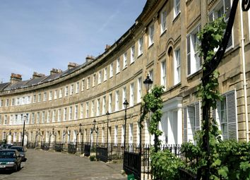 Thumbnail 2 bed flat to rent in Lansdown Crescent, Bath