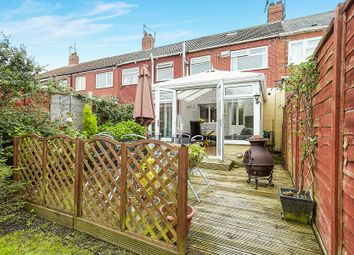 Thumbnail 3 bed terraced house for sale in Worcester Road, Hull