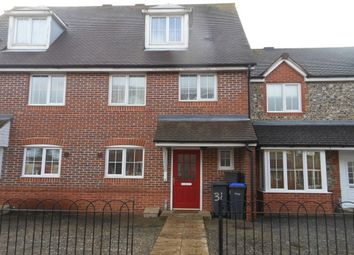 Thumbnail 3 bed terraced house to rent in Pointers Way, Amesbury, Salisbury