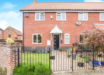 Thumbnail 3 bed end terrace house for sale in Whitsands Road, Swaffham