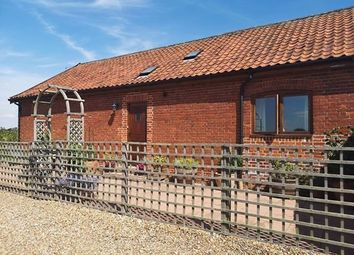 Thumbnail 2 bed barn conversion to rent in Diss Road, Tibenham, Norwich