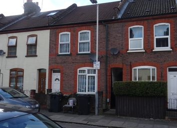 Thumbnail 1 bed terraced house to rent in Spencer Road, Luton