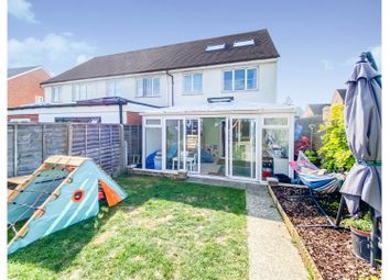 Thumbnail 4 bed end terrace house for sale in Roman Avenue, Angmering