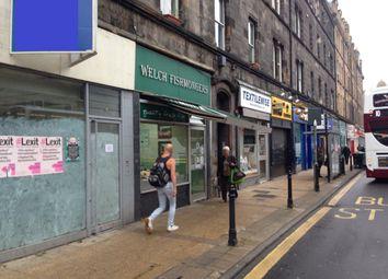 Thumbnail Retail premises for sale in 34 Great Junction Street, Edinburgh