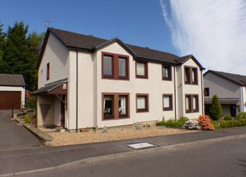 Thumbnail 2 bed flat for sale in Errochty Grove, Perth