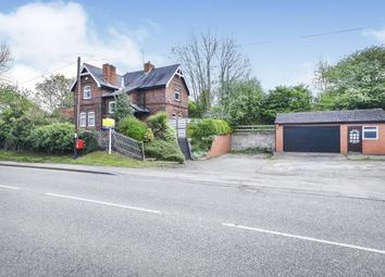 Thumbnail 3 bed detached house for sale in Mansfield Road, Warsop, Mansfield, Nottinghamshire