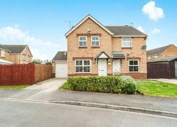 Thumbnail 3 bed semi-detached house for sale in Bowmont Way, Kingswood, Hull