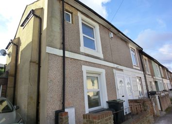 Thumbnail 3 bedroom end terrace house to rent in Arthur Street, Gravesend