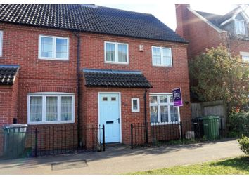 Thumbnail 3 bed end terrace house for sale in West Lake Avenue, Peterborough