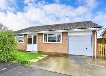 Thumbnail 3 bed detached bungalow for sale in Aplands Close, Child Okeford, Blandford Forum