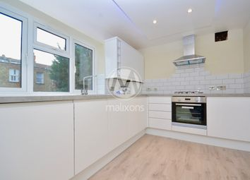 Thumbnail 3 bed flat to rent in Barcombe Avenue, London