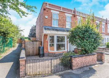 Thumbnail 2 bedroom end terrace house for sale in Foley Road, Worcester