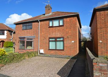 Thumbnail 2 bed semi-detached house for sale in Tower Road, Southfields, Rugby
