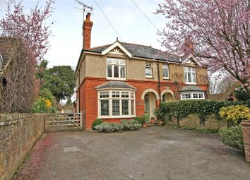 Thumbnail 3 bed semi-detached house for sale in The Yews, Dippenhall Street, Crondall, Farnham