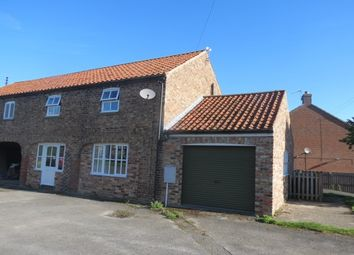 Thumbnail 3 bed barn conversion to rent in East Street, Swinton, Malton