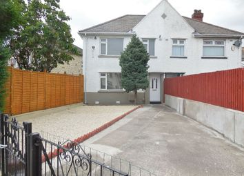 Thumbnail 3 bed semi-detached house for sale in Madoc Road, Tremorfa, Cardiff