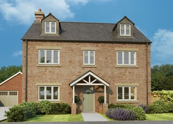 "Thumbnail 5 bed detached house for sale in ""Sequoia"" at Burcote Road, Towcester"