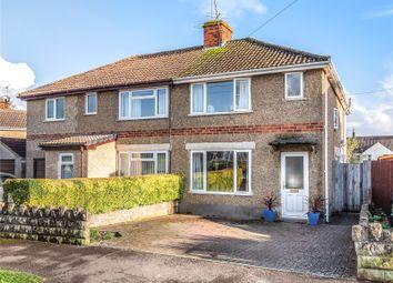 Thumbnail Semi-detached house for sale in Plantation Road, Chippenham, Wiltshire