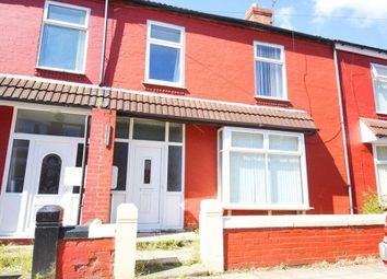 Thumbnail 4 bedroom terraced house for sale in Russell Road, Mossley Hill, Liverpool