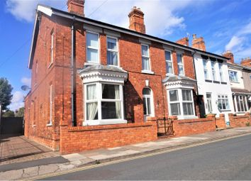 Thumbnail 4 bed end terrace house for sale in Rowston Street, Cleethorpes