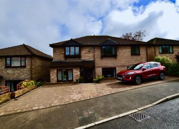 Thumbnail 5 bed detached house for sale in Heol Brofiscin, Groesfaen, Pontyclun