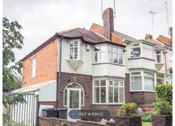 Thumbnail 3 bed semi-detached house to rent in Woolmore Road, Birmingham