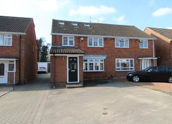 Thumbnail 4 bed semi-detached house for sale in St. Marys Drive, Crawley, West Sussex.