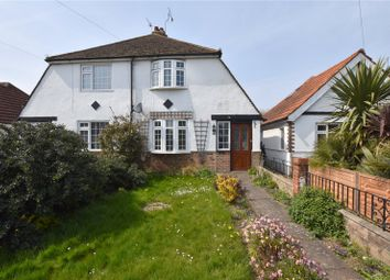 Thumbnail 2 bedroom semi-detached house for sale in Grinstead Lane, Lancing, West Sussex