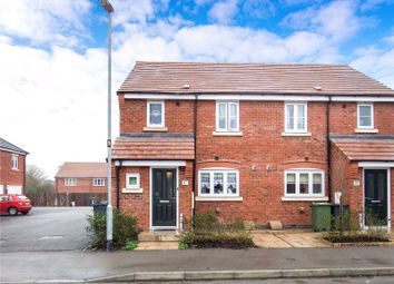 Thumbnail 3 bed semi-detached house for sale in Aitken Way, Loughborough, Leicestershire