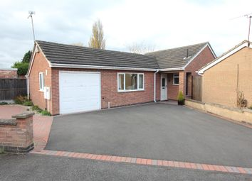 Thumbnail 2 bed detached bungalow for sale in Charnwood Road, Barwell, Leicester