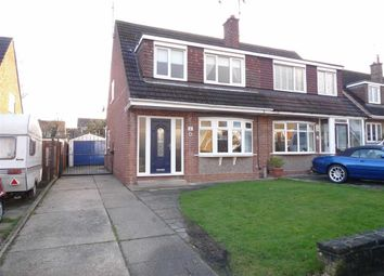 Thumbnail 3 bed semi-detached house for sale in Bankfield Drive, Kirk Hallam, Derbyshire