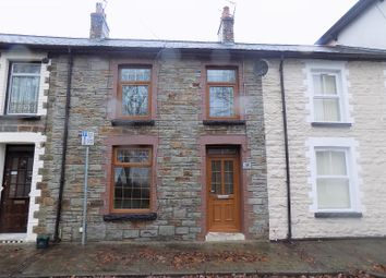 Thumbnail 3 bed terraced house for sale in Pencai Terrace, Treorchy, Rhondda, Cynon, Taff.