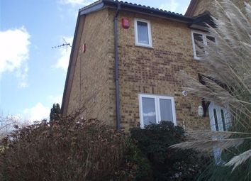 Thumbnail 2 bed end terrace house to rent in Hollingbourne Crescent, Crawley
