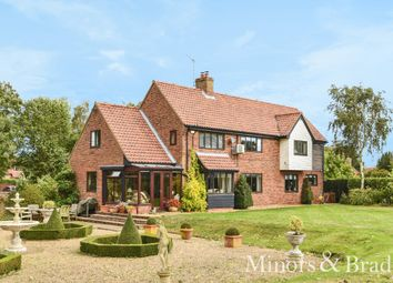Thumbnail 4 bed detached house for sale in Pennygate, Barton Turf, Norwich