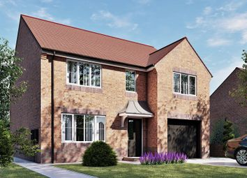 Thumbnail 4 bed detached house for sale in The Wycombe, The Pastures, Long Duckmanton