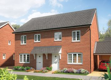"Thumbnail 3 bed property for sale in ""The Magnolia"" at Silfield Road, Wymondham"