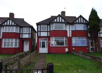 Thumbnail 3 bedroom semi-detached house to rent in East Rochester Way, Sidcup, Kent