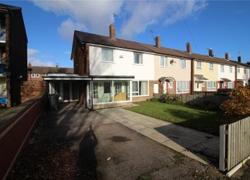 Thumbnail 3 bed end terrace house for sale in Twickenham Drive, Wirral, Merseyside