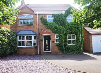 Thumbnail 4 bed detached house for sale in St. Laurence Way, Alcester