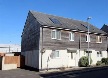 Thumbnail 3 bedroom semi-detached house for sale in Samuel Bassett Avenue, Plymouth, Devon