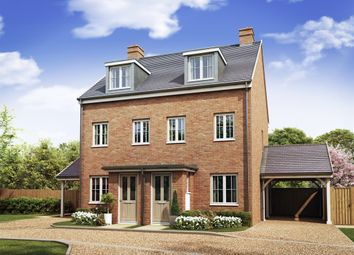 "Thumbnail 3 bed semi-detached house for sale in ""The Souter"" at High Street, Newington, Sittingbourne"