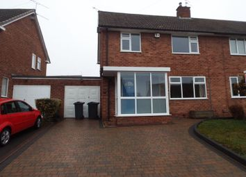 Thumbnail 3 bedroom semi-detached house to rent in St Denis Road, Selly Oak, Birmingham