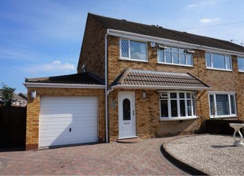 Thumbnail 3 bed semi-detached house for sale in Laburnum Drive, Grimsby