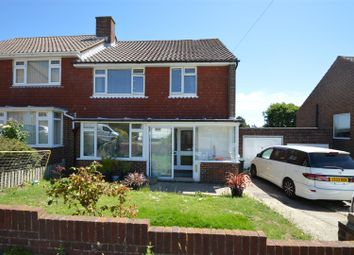 Thumbnail 3 bed semi-detached house for sale in Fairlight Close, Bexhill-On-Sea
