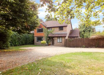 Thumbnail 4 bed detached house for sale in Browning Road, Church Crookham, Fleet