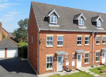 Thumbnail 3 bed town house for sale in Sherratt Close, Stapeley, Nantwich