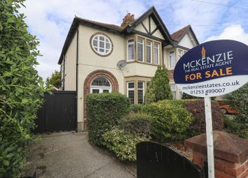 Thumbnail 3 bed semi-detached house for sale in Gosforth Road, Blackpool