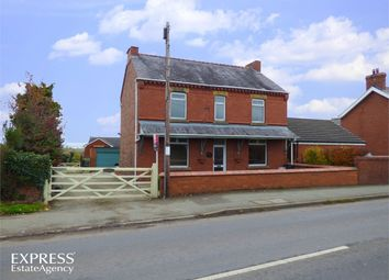 Thumbnail 5 bed detached house for sale in Wrexham Road, Marchwiel, Wrexham