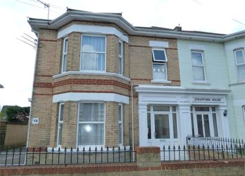 Thumbnail 1 bedroom flat for sale in 19 Hamilton Road, Boscombe, Dorset