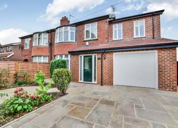 4 bed semi-detached house for sale in Wilmslow Road, Heald Green, Cheadle, Cheshire SK8